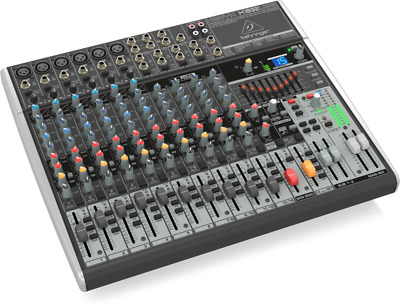 Behringer X1832USB Xenyx 18-Input 3/2-Bus Mixer With USB/Audio Interface • 268.92£
