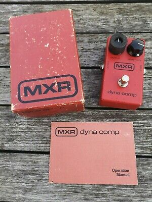 Mxr Dyna Comp Compressor (vintage Block Logo) - Free Next Day Delivery In The Uk • 215£
