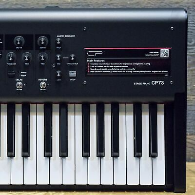 Yamaha CP73 Stage Piano Balanced Hammer Action 73-Note Keyboard Synthesizer • 1,605.39£