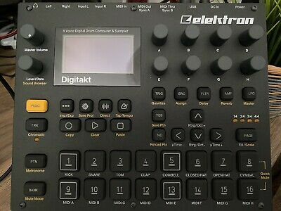 Elektron Digitakt - Perfect Condition W/ Official Lid And Adjustable Stand • 625£