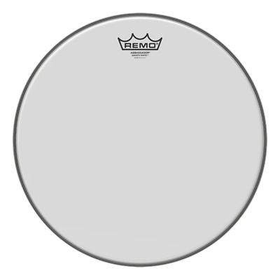 Remo Ambassador Bass Drum Heads - Smooth White • 45.59£