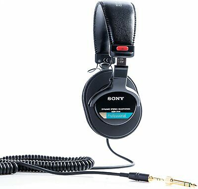 Sony MDR-7506/1 Professional Headphone, Black Inc Soft Case  • 91£
