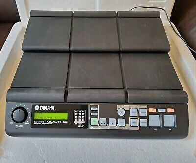 Yamaha DTX-Multi 12 Digital Percussion Pad - Excellent Condition. Free Postage! • 156£