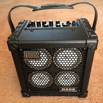 Roland Micro Cube Bass RX Battery Modelling Amp. Mint ! • 219£