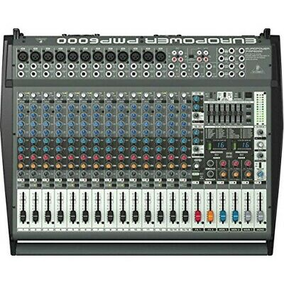 BEHRINGER PMP6000 1600W 20 Channel Powered Mixer • 856.85£