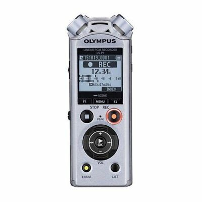 Micro Voice Recorder Olympus LS-P1 MP3, Pcm Silver • 141.73£