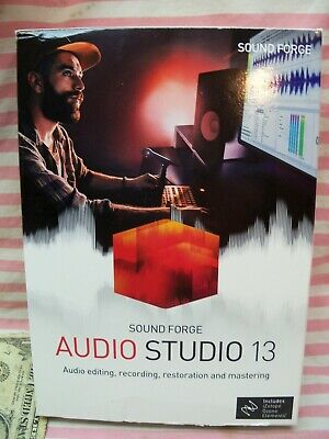 NEW Sound Forge Audio Studio 13 Disc Included MAGIX / SONY *USA SELLER* • 30.28£