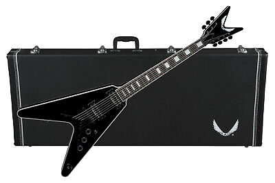 Dean V Select 7-string Electric Guitar Classic Black NEW W/ Hard Case • 808.97£