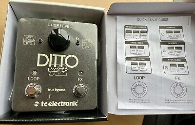 TC Electronic Ditto X2 Looper Electric Guitar Effects Pedal In Box • 90£
