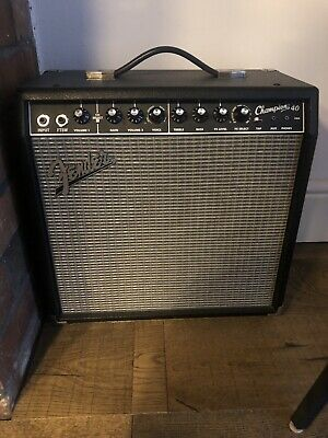 Fender Champion 40 40w Electric Guitar Amplifier Amp • 100£