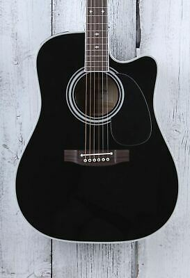Takamine EF341SC Dreadnought Acoustic Electric Guitar Gloss Black With Case BLEM • 1,064.44£