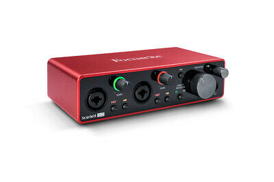 Focusrite Scarlett 2i2 3rd Gen Professional Studio USB Audio Interface • 138£
