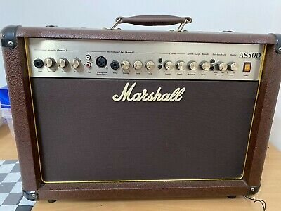 Marshall AS50D Acoustic Guitar Amplifier • 200£