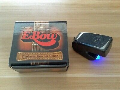 Ebow Plus E-bow - Guitar Sustain String Effect Bow - Boxed With Instructions • 56.10£