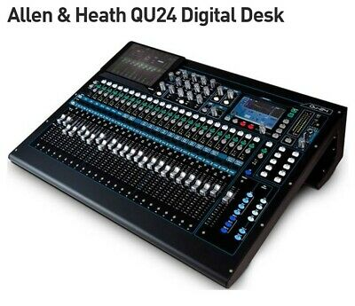 Allen & Heath QU-24 Chrome Digital Mixer Special Offer Was £1700 Now £1400 • 1,400£