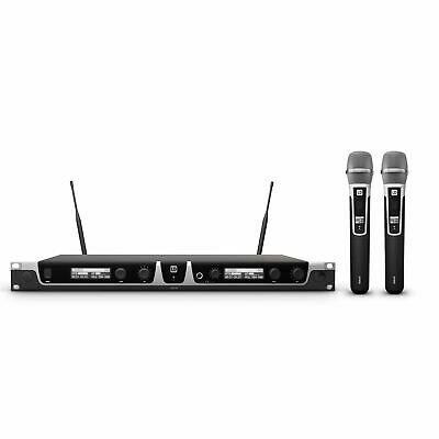 LD Systems U508 HHC 2 Wireless Mic System with 2 x Condenser Handheld Mic
