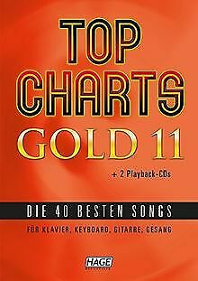 Top Charts Gold 11 (mit 2 CDs + Midifiles, USB-S... | Book | Condition Very Good • 27.59£