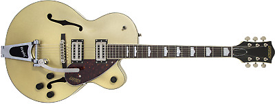 Gretsch G2420T Streamliner Hollow Body Electric Guitar With Bigsby, Golddust • 425.36£