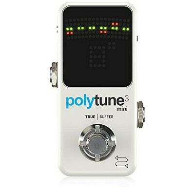 Tc Electronic Polyphonic MINI Tuner POLYTUNE 3 MINI • 87.45£