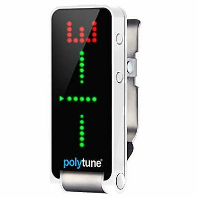 Tc Electronic Polytune Clip Type Polyphonic Tuner WHITE 5706622021847 F/S • 63.71£