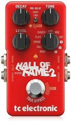 Tc Electronic REVERB HALL OF FAME 2 REVERB • 175.08£