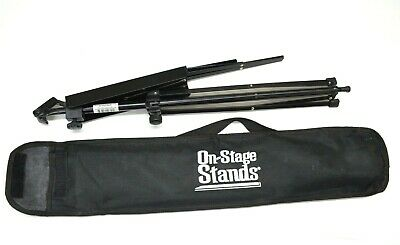 On Stage Stand Music Sheet Holder Black Metal Foldable In Case SM7122BB • 7.20£
