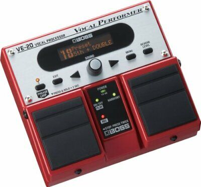 Boss VE-20 Vocal Performer Multi-Effects Pedal • 258.21£