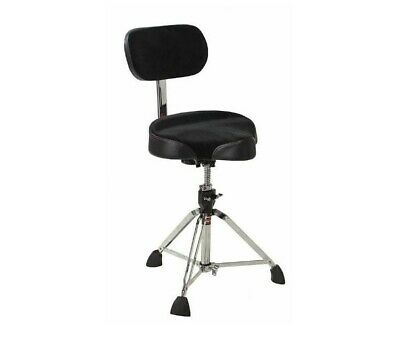 Gibraltar 9000 Motorcycle Drum Stool Throne With Backrest • 148£