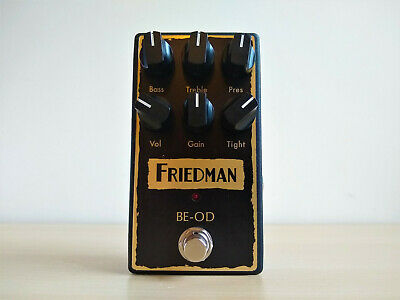 Friedman BE-OD (BEOD) Overdrive Distortion Guitar Pedal • 149£