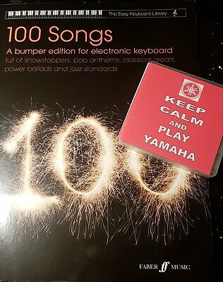 KEEP CALM AND PLAY YAMAHA (USB + BOOK SET) 1000 Registrations + Book For Genos  • 73.99£