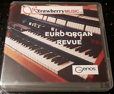 EURO ORGAN REVUE USB New Styles And Registrations For Yamaha PSR-SX900 SX700 • 49.99£