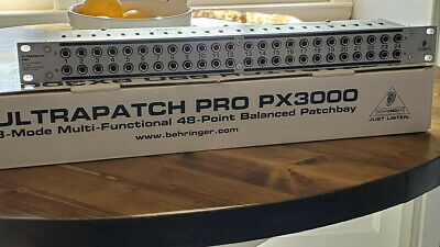 Behringer ULTRAPATCH PRO PX3000 - FREE Shipping - Used • 41.19£