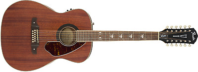 Fender Tim Armstrong Hellcat 12 String Acoustic Electric Guitar Natural Mahogany • 365.72£