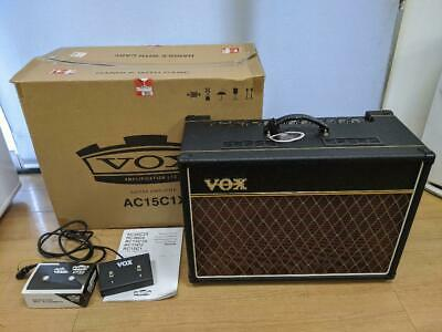 VOX AC15 C1X + Foot Switch (VFS2A) 100V Used From Japan Free Shipping RSMI • 924.65£