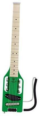 Ultra-Light Electric Travel Guitar Right-Handed Slime Green Maple Fretboard • 341.41£