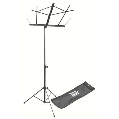 On-Stage SM7122BB Compact Folding Sheet Music Stand With Bag, Black • 7.23£