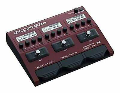 Zoom B3N Multi Effect Processor Stomp Pedal For Bass F/S W/Tracking# Japan New • 215.83£
