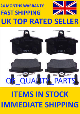 Brake Pads Set Rear 13046036022 ATE For Audi 100 200 80 90 A4 A6 A8 Cabriolet • 46.96£