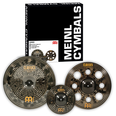 Meinl Limited Edition Classics Custom Dark Effects Cymbal Set • 269.25£