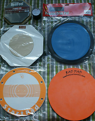 Drum Pads Kilpatrick Propad Remo Putty Drumming Mad Andante Rad Pad Premier • 21.95£