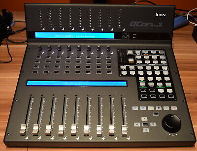 Icon Qcon Pro X Universal Control Surface - Excellent Condition - Boxed • 699£