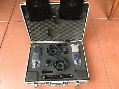 AKG C414 XLS Stereo Set Condenser Microphone Matched Pair • 1,462.22£