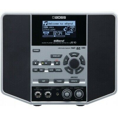 Boss JS-10 E-Band Audio Player Jam Station With Effects (Ex-Display) • 307£