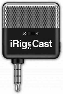 IK Multimedia IRig Mic Cast - Ultra Compact Microphone For IPhone/IPad/Android
