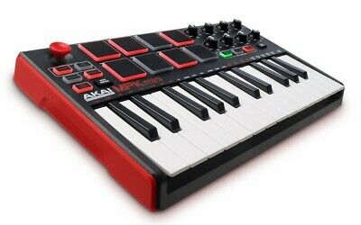 Akai Professional MPK Mini MK2 Compact Keyboard And Pad Controller – Boxed • 70£