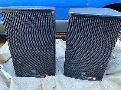 2 X Electro-Voice EV Live X ELX115P 1000W Active Powered PA Speakers With Covers • 740£