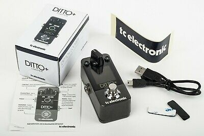 TC Electronic Ditto + Plus Looper Pedal For Electric Guitar Bass Looping • 75£