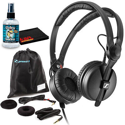 Sennheiser HD 25 PLUS Monitor Headphones With Sanitizer And Cleaning Cloth • 141.94£