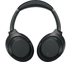 Sony WH-1000XM3 On-Ear Noise Cancelling Wireless Headphones - Black (Brand New) • 204.99£