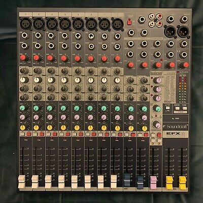 Soundcraft EFX8 Analogue Mixer With Lexicon Effects - Mint Condition • 200£